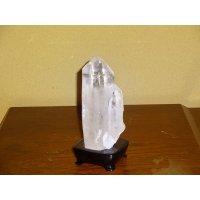 水晶原石(台付き)