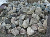 木曽石(岐阜県産:玉石)