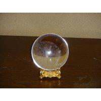 水晶玉(天然石・国産鑑定証付き)