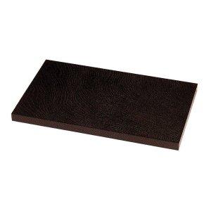 画像1: 花台(角板)/黒塗り(片面仕上げ)
