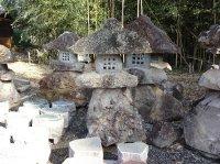 鳥海石山灯籠/秋田県産